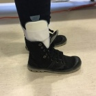 img Attelle aircast avec chaussure